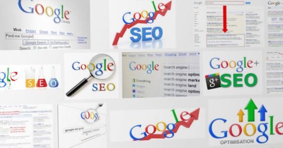 do landing pages rank in google